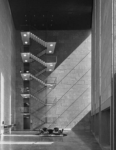 Arne Jacobsen: The National Bank of Denmark