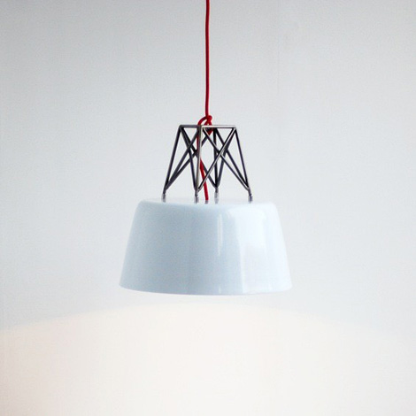 Silo pendant lamp