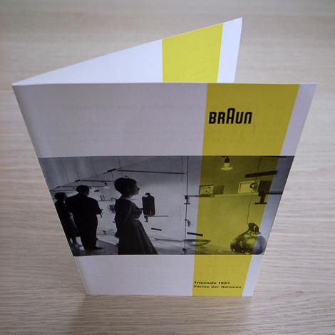 Braun Invite: Triennale 1957
