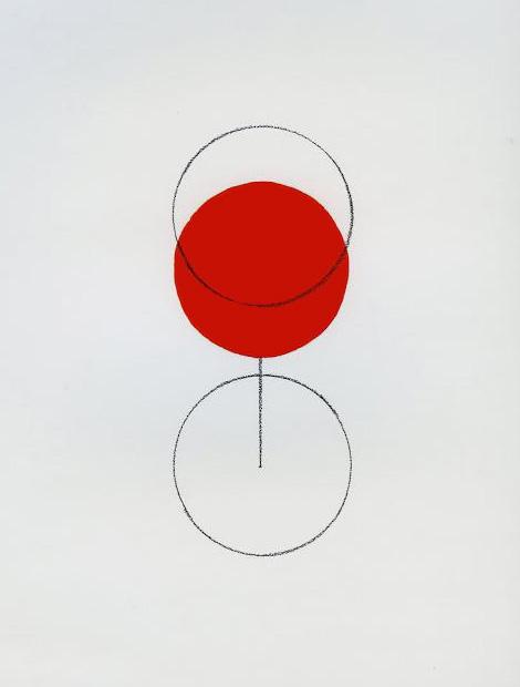 Glass of line