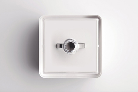 Invisible Love ring