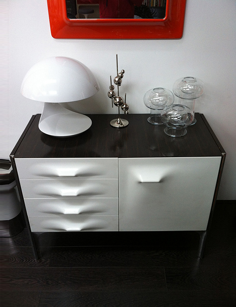 Loewy cabinet