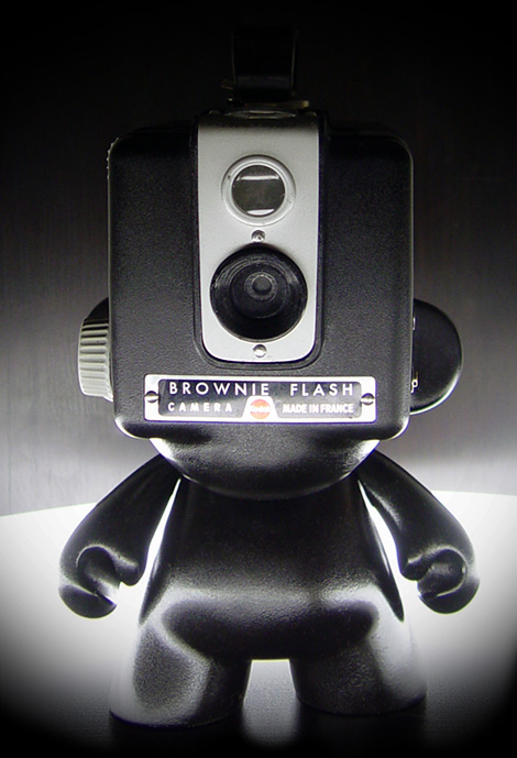 Munny x Kodak Brownie Flash