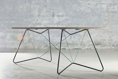 On a string table