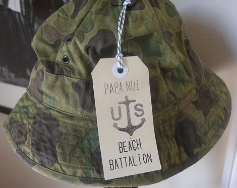 Papa Nui beach hat