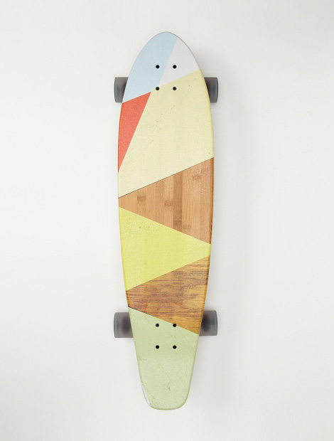 Roxy Blockparty Skateboard