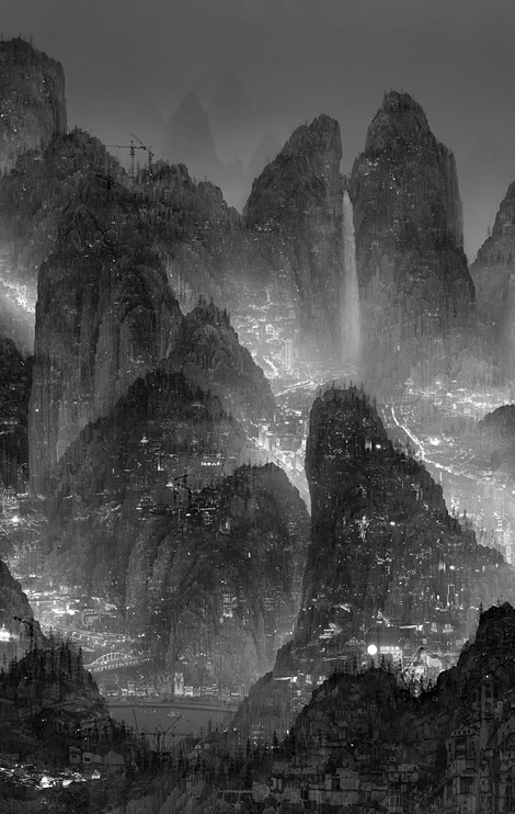 Yang Yongliang: Megalopolises