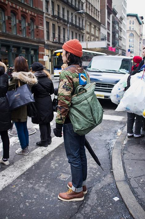BAPE x Porter helmet bag