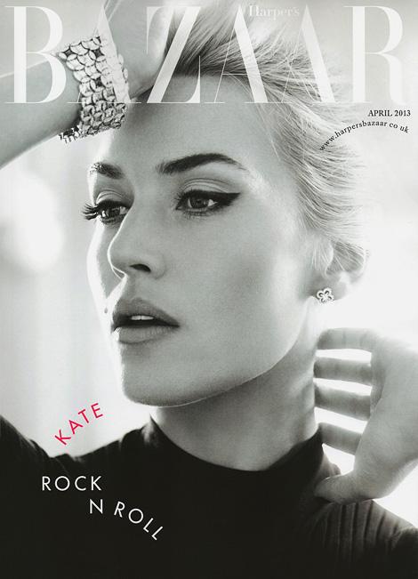 Kate Winslet x Harpers Bazaar