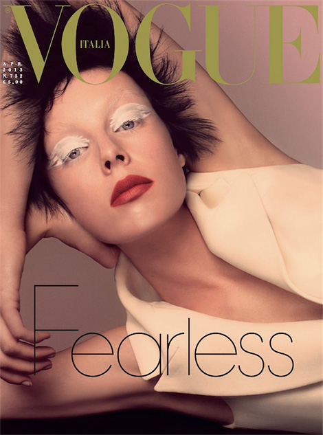 Vogue Italia: Fearless