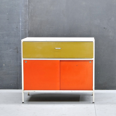 George Nelson steel cabinet