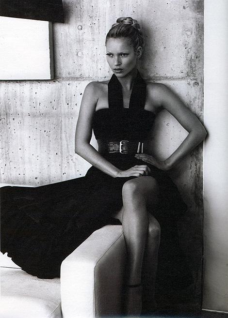 Kate Moss x W