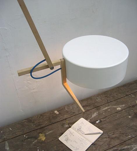 Scantling ceiling lamp