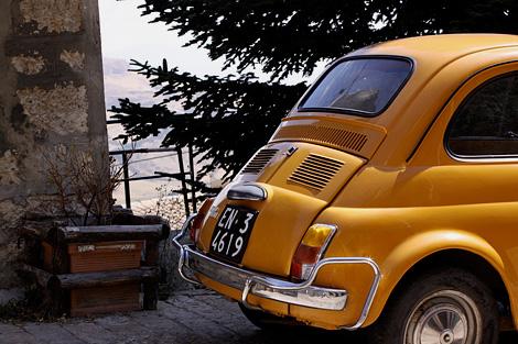 Fiat 500 in Petralia Soprana