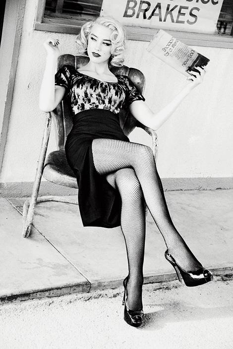 Amber Heard x Ellen von Unwerth.