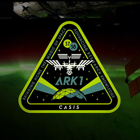 ARK1 International Space Station emblem