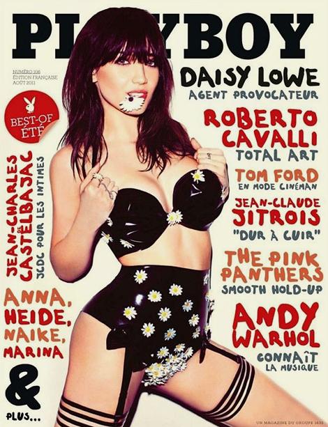 Daisy Lowe x Playboy