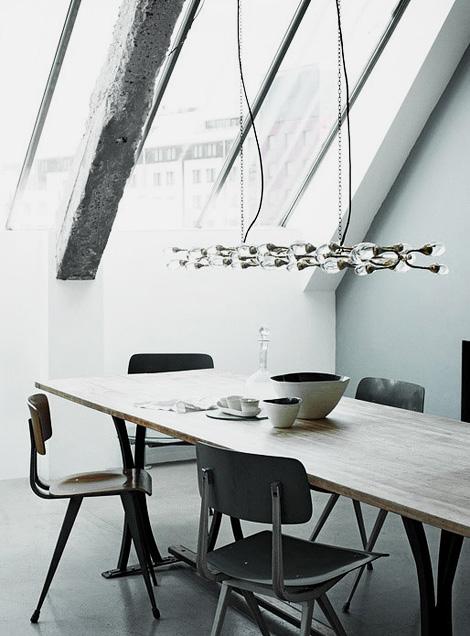 Damselfly chandelier