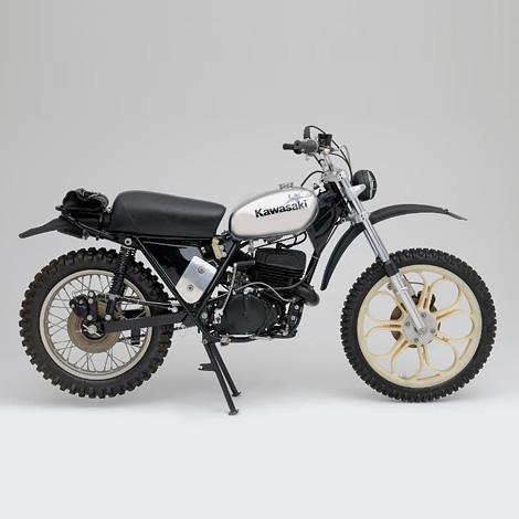 1973 Kawasaki KX450 ISDT Prototype