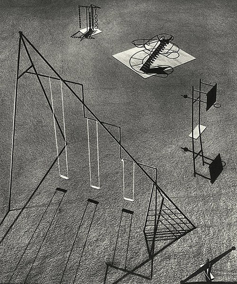 Isamu Noguchi playground proposal