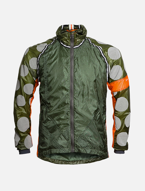 Rapha & Raeburn hooded wind jacket