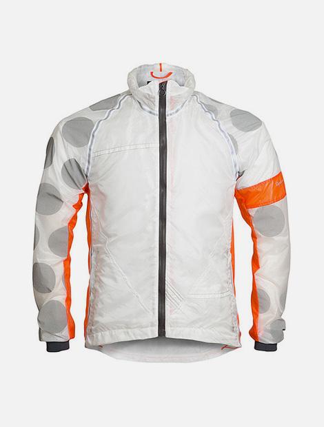 Rapha & Raeburn hooded wind jacket