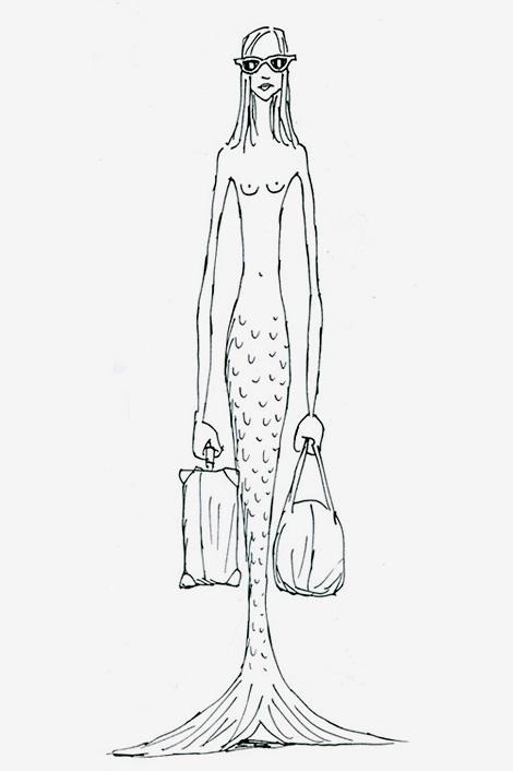 Travelling Mermaid