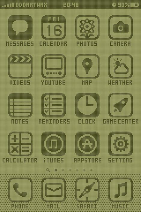 8-bit iPhone