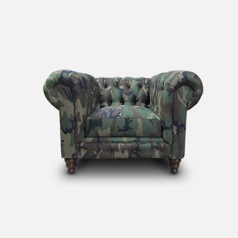 Camo armchair