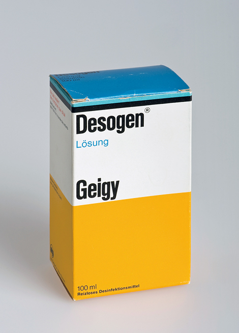 Geigy medication packaging