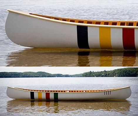 Stripe Canoe