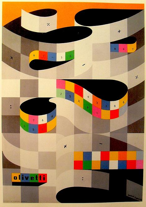 Herbert Bayer Olivetti poster