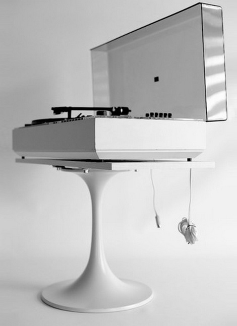 Vintage WEGA record player