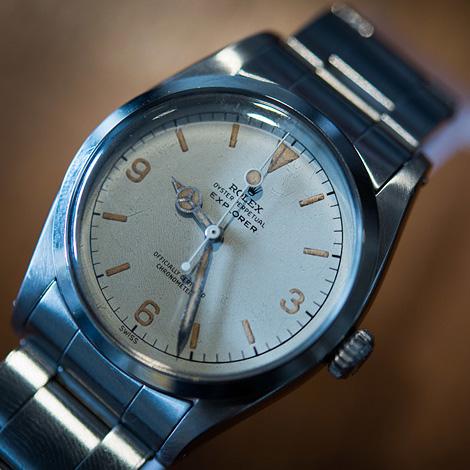 Rolex white dial
