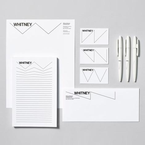Whitney Museum identity