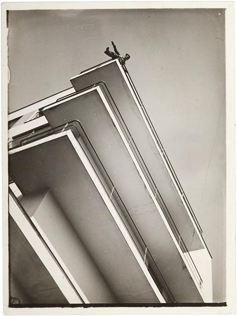 Bauhaus balcony