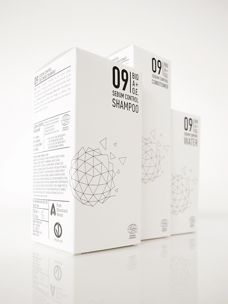 BIO A+O.E. packaging