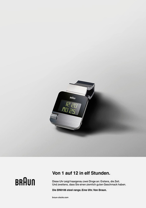 Braun BN0106 watch ad