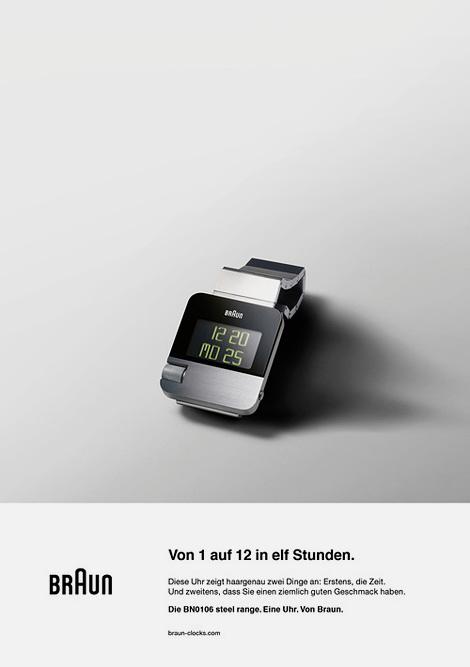 Braun BN0106 watch ad