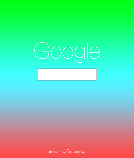 Jony Ive redesigns Google