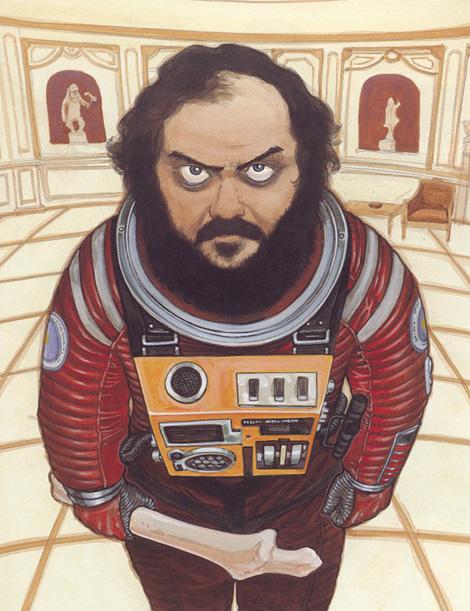 Stanley Kubrick x Katsuhiro Otomo