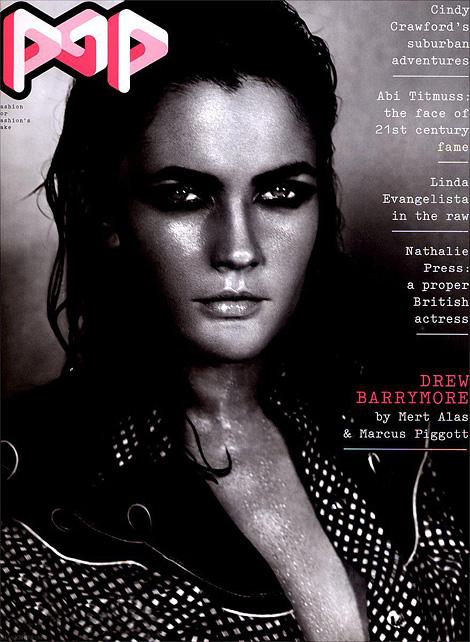 Drew Barrymore x Mert Alas & Marcus Piggott