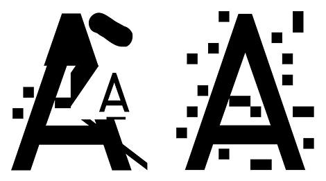 ZXX disruptive typeface