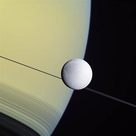 Dione x Cassini