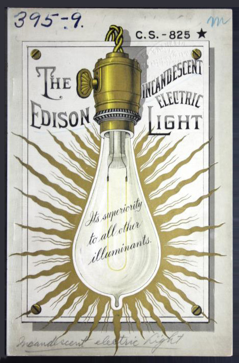 Edison electric light pamphlet