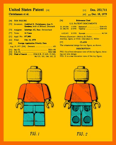LEGO Man patent