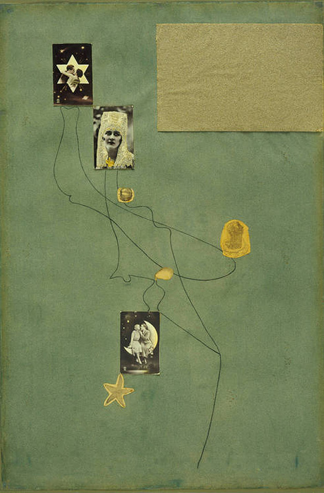 Joan Miró collage