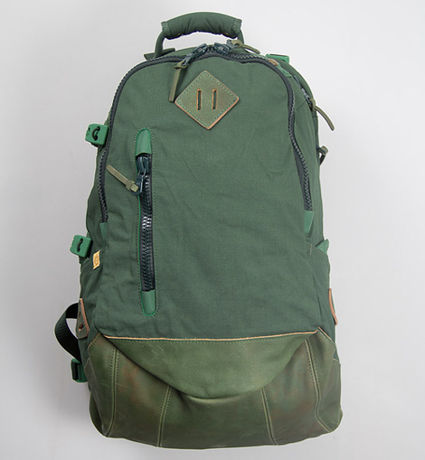Visvim Green Lamina 20L Back Pack