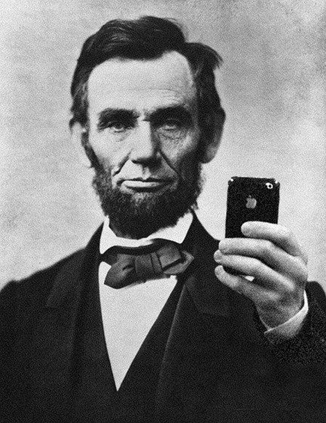 Abe got swag