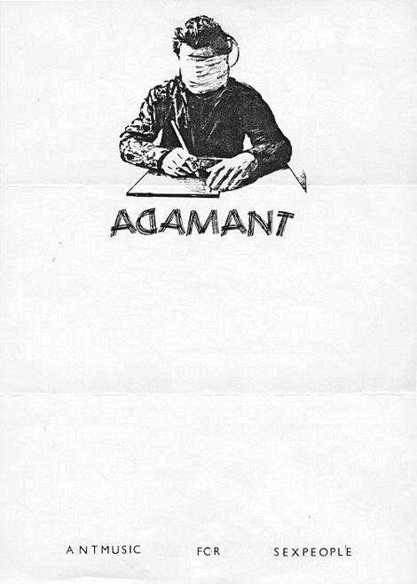 Adam Ant's letterhead
